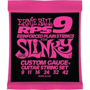 struny do gitary elektrycznej ERNIE BALL EB2239 SLINKY RPS /009-042/