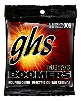 struny do gitary elektrycznej GHS BOOMERS GBXL /009-042/