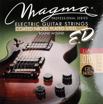 struny do gitary elektrycznej MAGMA E.D. - GE140ED PROFESSIONAL - Light /010-046/