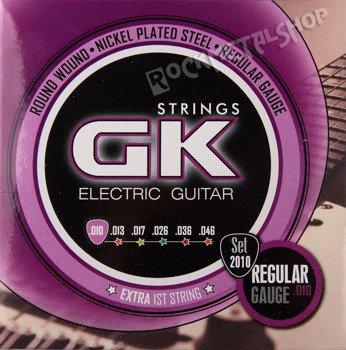 struny do gitary elektrycznej MEDINA GK Nickel Plated Regular /010-046/