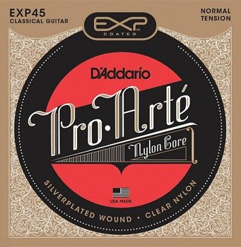 struny do gitary klasycznej D'ADDARIO EXP PRO-ARTE CLASSICAL EXP45 /0280-044/