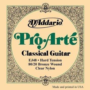 struny do gitary klasycznej D'ADDARIO - PRO ARTE EJ48