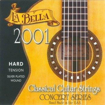 """struny do gitary klasycznej LA BELLA 2001H """"CONCERT"""" Hard Tension"""