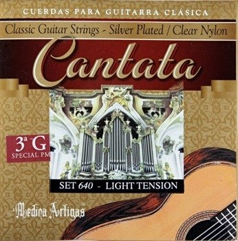 "struny do gitary klasycznej MEDINA ARTIGAS 3G ""Cantata"" Medium Tension 630"
