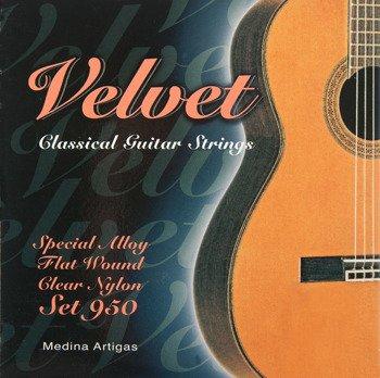 """struny do gitary klasycznej MEDINA ARTIGAS """"Velvet"""" 950 Medium"""