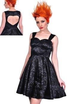 sukienka gotycka LIVING DEAD SOULS (BLACK)