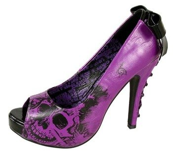 szpilki IRON FIST - AMERICAN NIGHTMARE (PURPLE)