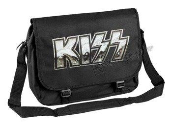 torba KISS - IRON LOGO, na ramię