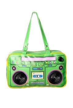 torba grająca CASSETTE PLAYER (GREEN)