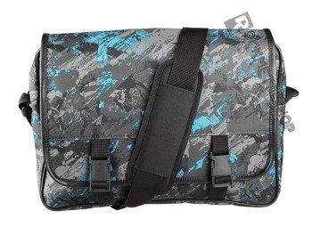 torba na ramię ABSTRACT TEXTURE, z klapką