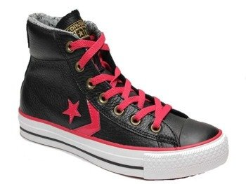 trampki CONVERSE - STAR PLAYER MID BLACK BARBER