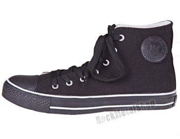 trampki NEW AGE - FULL BLACK (082)