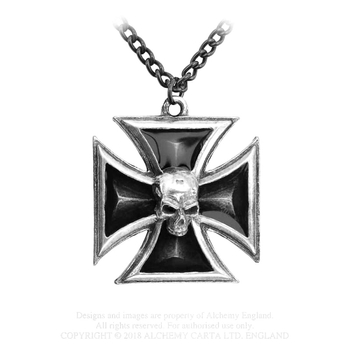 wisior BLACK KNIGHT'S CROSS