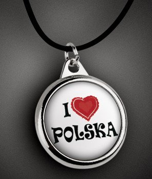 wisior I LOVE POLSKA