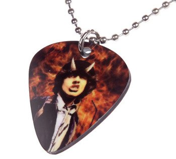 wisior kostka gitarowa AC/DC -  HIGHWAY TO HELL