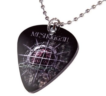 wisior kostka gitarowa MESHUGGAH - CHAOSPHERE