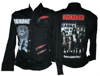 workshirt RAMONES - GABBA GABBA HEY długi rękaw