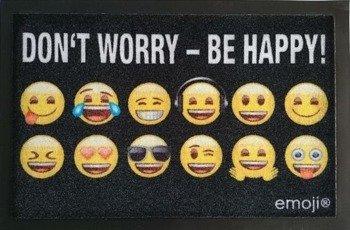 wycieraczka DON'T WORRY - BE HAPPY