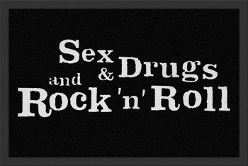 wycieraczka SEX  DRUGS ROCK N ROLL