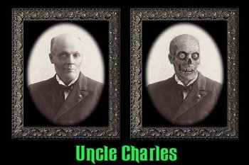 zdjęcie 3D HAUNTED MEMORIES - UNCLE CHARLES (HUME57UC)
