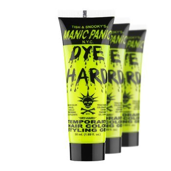 żel koloryzujący DYE HARD TEMPORARY HAIR COLOR STYLING GELS (ELECTRIC BANANA)