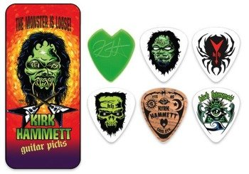 zestaw kostek (6 szt) KIRK HAMMETT - THE MONSTER IS LOOSE! (KHT01T088)