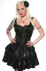 Sukienka BLACK ROSES (DR1255)