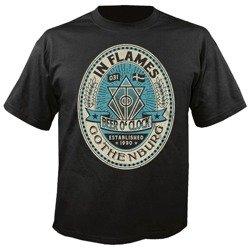 koszulka IN FLAMES - BEER O CLOCK