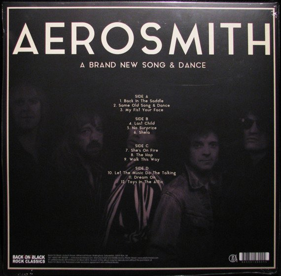 AEROSMITH: A BRAND NEW SONG & DANCE (2LP VINYL)