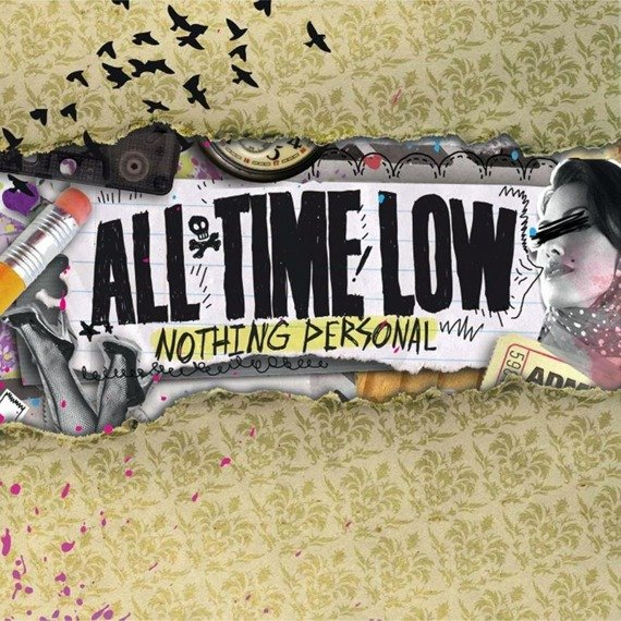 ALL TIME LOW: NOTHING PERSONAL (CD)