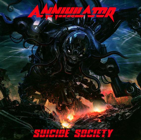 ANNIHILATOR: SUICIDE SOCIETY (CD)