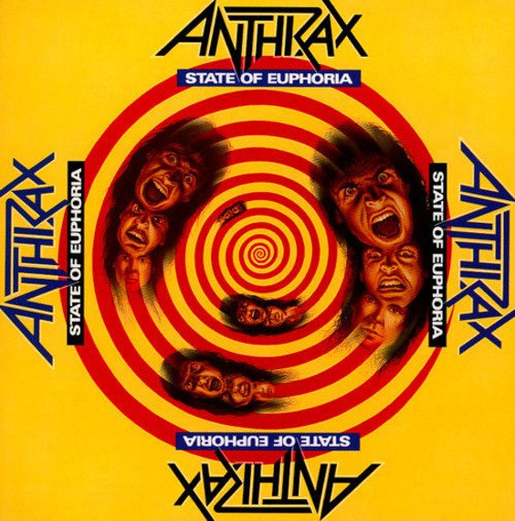 ANTHRAX: STATE OF EUPHORIA (CD)