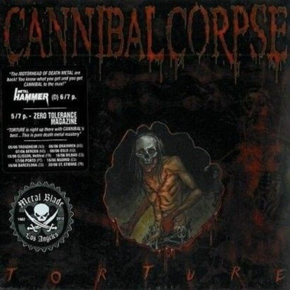 CANNIBAL CORPSE: TORTURE (CD)