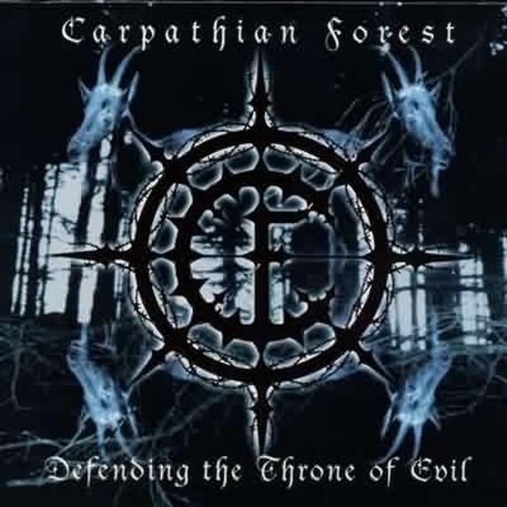 CARPATHIAN FOREST - DEFENDING THE THRONE OF EVIL (CD)