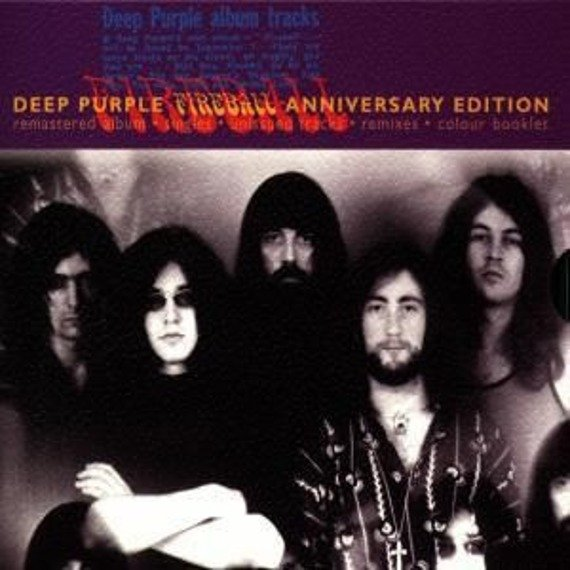 DEEP PURPLE: FIREBALL (CD) ANNIVERSARY EDITION