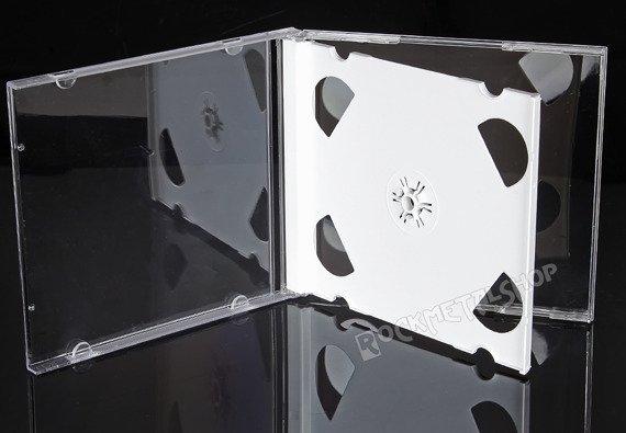 ETUI CD-2 BOX BIAŁE NA DWIE PŁYTY CD