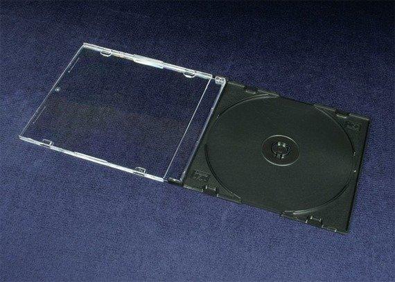 ETUI CD-S SLIM CZARNE