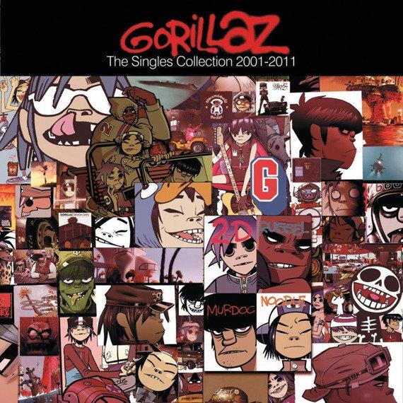 GORILLAZ: THE SINGLES COLLECTION 2001-2011 (CD)