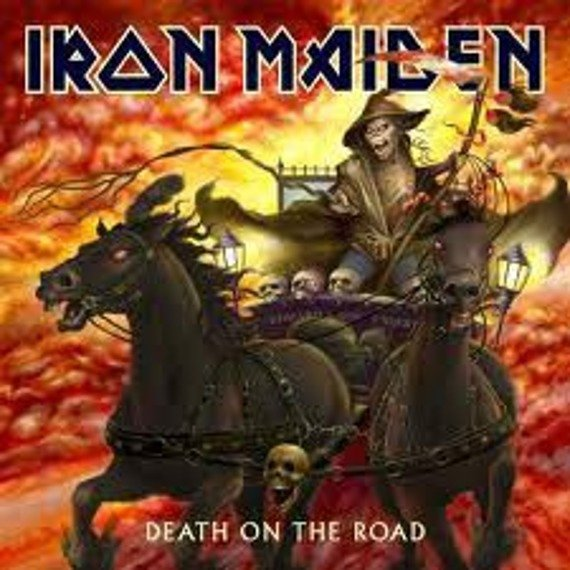IRON MAIDEN: DEATH ON THE ROAD (2LP VINYL)