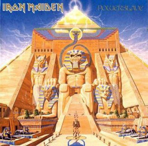 IRON MAIDEN: POWERSLAVE (LP VINYL)
