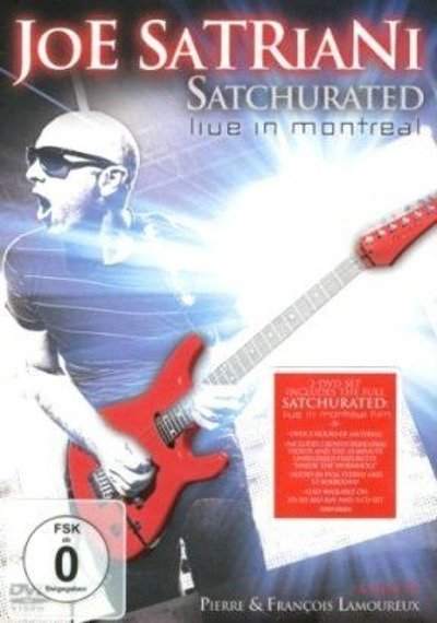 JOE SATRIANI : SATCHURATED LIVE IN MONTREAL (DVD)
