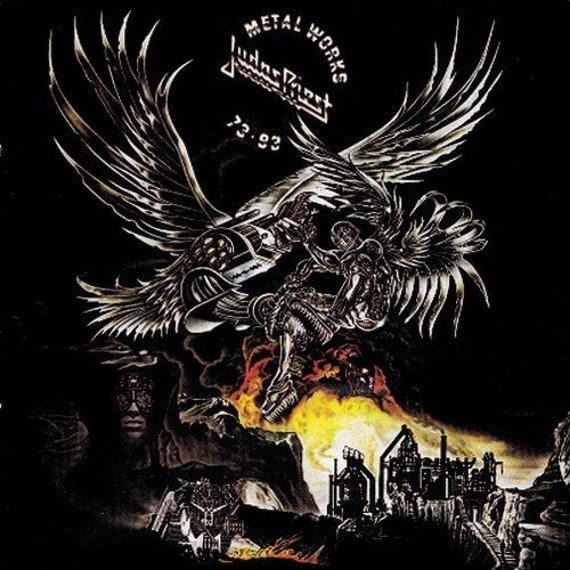 JUDAS PRIEST : METAL WORKS 73-93 (CD)