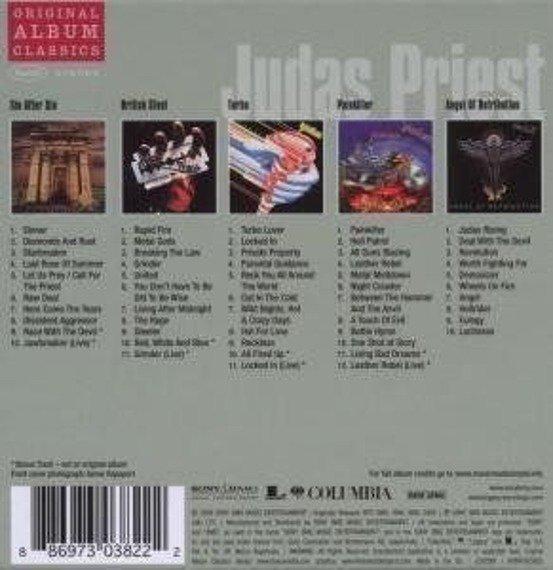 JUDAS PRIEST : ORYGINAL ALBUM CLASSICS (5CD)