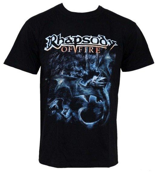 Koszulka RHAPSODY OF FIRE - BLACK DRAGON