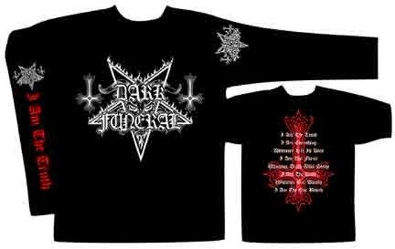 Longsleeve  DARK FUNERAL - I AM THE TRUTH  (ST141)