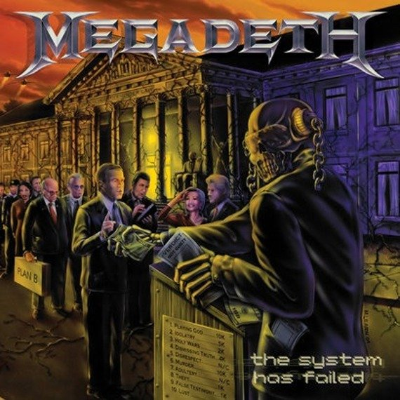 MEGADETH: THE SYSTEM HAS FAILED (CD)