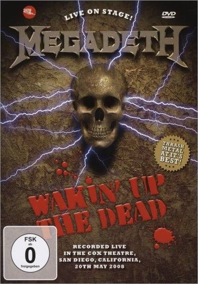 MEGADETH: WAKIN' UP THE DEAD (DVD)