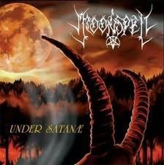 MOONSPELL : UNDER SATANE (CD)