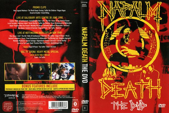 NAPALM DEATH: THE DVD (DVD)