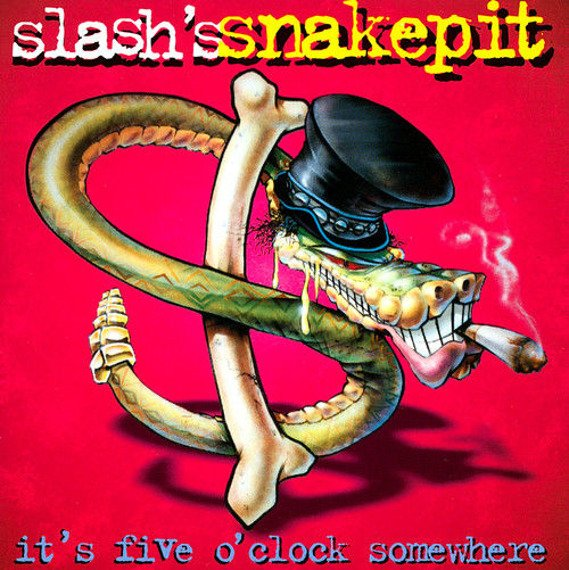 SLASH: IT'S FIVE O'CLOCK SOMEWHERE (CD)